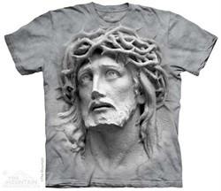 Crown Of Thorns Sculpture Shirt Tie Dye Adult T-Shirt Tee