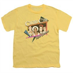 Culture Club Kids Shirt Karma Chameleon Banana T-Shirt