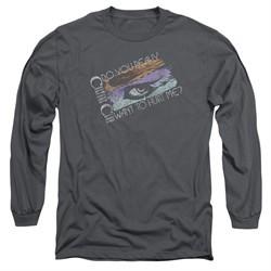 Culture Club Long Sleeve Shirt Hurt Me Charcoal Tee T-Shirt