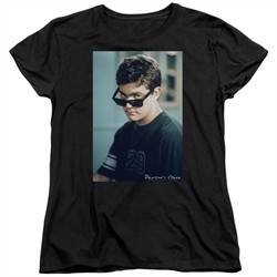 Dawson's Creek Womens Shirt Cool Pacey Black T-Shirt