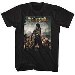 Dead Rising 3 Video Game Shirt Logo Black T-Shirt