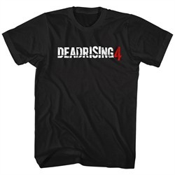 Dead Rising 4 Shirt Logo Black T-Shirt