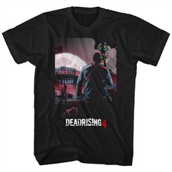 Dead Rising 4 Shirt Wilmette Movie Theater Black T-Shirt