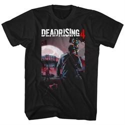 Dead Rising 4 Shirt Wilmette Theater High Logo Black T-Shirt