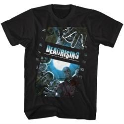 Dead Rising Video Game Shirt Zombie Film Black T-Shirt