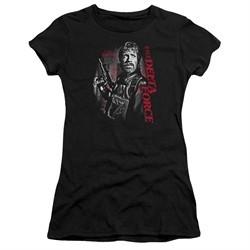 Delta Force Juniors Shirt Black Ops Black T-Shirt
