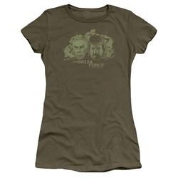 Delta Force Juniors Shirt Explosion Military Green T-Shirt