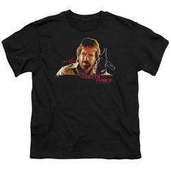 Delta Force Kids Shirt Maj Scott Mccoy Black T-Shirt
