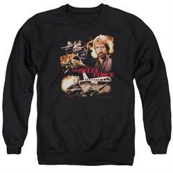Delta Force Long Sleeve Shirt Action Pack Black Tee T-Shirt