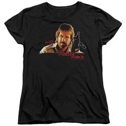 Delta Force Womens Shirt Maj Scott Mccoy Black T-Shirt