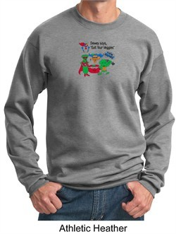 Vegan Shirt Adult Sweat Shirt
