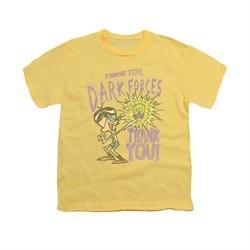 Dexter's Laboratory Shirt Kids Dark Forces Banana Youth Tee T-Shirt