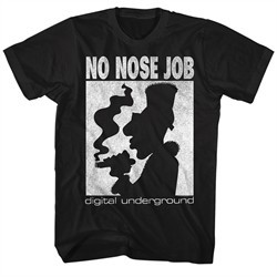 Digital Underground Shirt No Nose Job Black T-Shirt