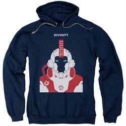 Divinity Hoodie Helmet Navy Sweatshirt Hoody