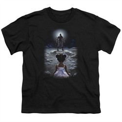 Divinity Kids Shirt Moon Child Black T-Shirt
