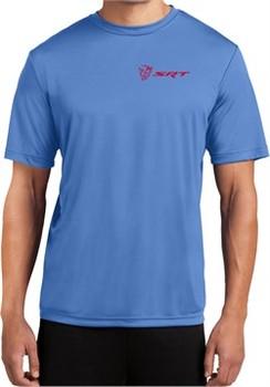 Dodge Demon SRT Logo Pocket Print Dry Wicking T-shirt