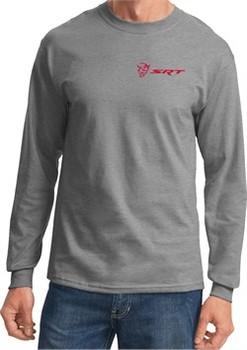 Dodge Demon SRT Logo Pocket Print Long Sleeve