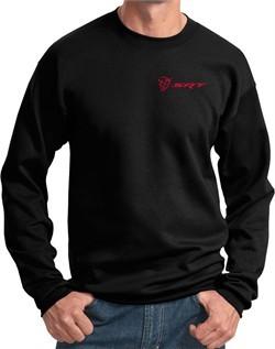 Dodge Demon SRT Logo Pocket Print Sweatshirt
