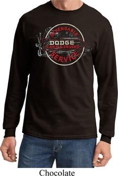 Dodge Shirt Vintage Dodge Sign Long Sleeve Tee T-Shirt