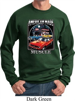 Dodge Sweatshirt Chrysler American Made Sweat Shirt