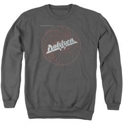 Dokken Sweatshirt Breaking The Chains Adult Charcoal Sweat Shirt