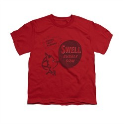 Double Bubble Shirt Kids Swell Gum Red T-Shirt