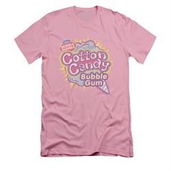 Double Bubble Shirt Slim Fit Cotton Candy Gum Pink T-Shirt