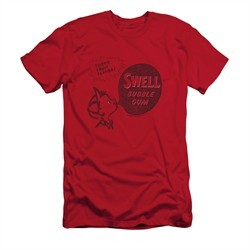 Double Bubble Shirt Slim Fit Swell Gum Red T-Shirt