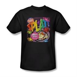 Double Bubble Shirt Splat Gum Black T-Shirt
