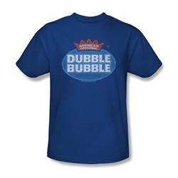 Double Bubble Shirt Vintage Logo Royal Blue T-Shirt