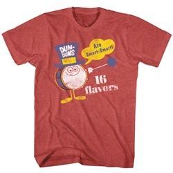 Dum Dums Shirt 16 Flavors Heather Red T-Shirt