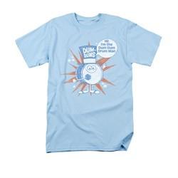 Dum Dums Shirt Drum Man Light Blue T-Shirt