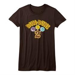 Dum Dums Shirt Juniors 2 Cents Chocolate T-Shirt