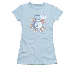 Dum Dums Shirt Juniors Drum Man Light Blue T-Shirt