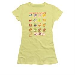 Dum Dums Shirt Juniors Know Your Flavor Banana T-Shirt