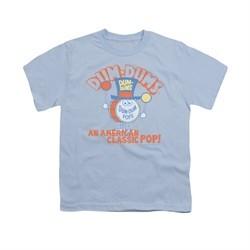 Dum Dums Shirt Kids Classic Pop Light Blue T-Shirt