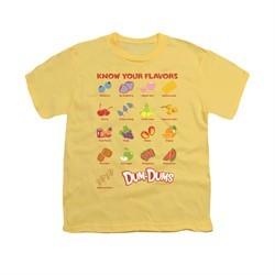 Dum Dums Shirt Kids Know Your Flavor Banana T-Shirt
