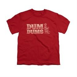 Dum Dums Shirt Kids Worlds Best Red T-Shirt