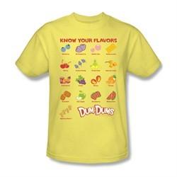 Dum Dums Shirt Know Your Flavor Banana T-Shirt
