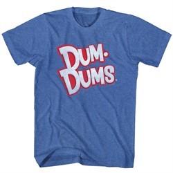 Dum Dums Shirt Logo Royal Blue T-Shirt