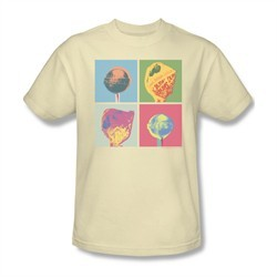 Dum Dums Shirt Pop Art Cream T-Shirt