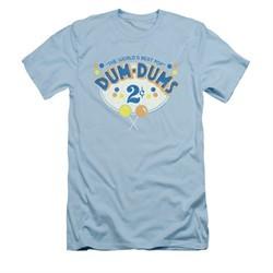 Dum Dums Shirt Slim Fit 2 Cents Light Blue T-Shirt