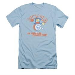 Dum Dums Shirt Slim Fit Classic Pop Light Blue T-Shirt