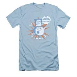 Dum Dums Shirt Slim Fit Drum Man Light Blue T-Shirt