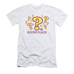 Dum Dums Shirt Slim Fit Mystery Flavor White T-Shirt