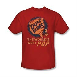 Dum Dums Shirt The Best Pop For 5 Cents Red T-Shirt