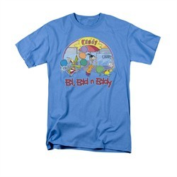 Ed, Edd N Eddy Shirt Jawbreakers Adult Carolina Blue Tee T-Shirt