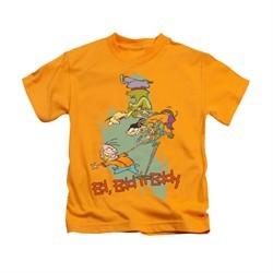 Ed, Edd N Eddy Shirt Kids Free Fall Gold Youth Tee T-Shirt