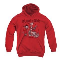 Ed, Edd N Eddy Youth Hoodie Gang Red Kids Hoody