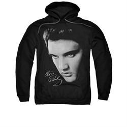 Elvis Presley Hoodie Face Black Sweatshirt Hoody